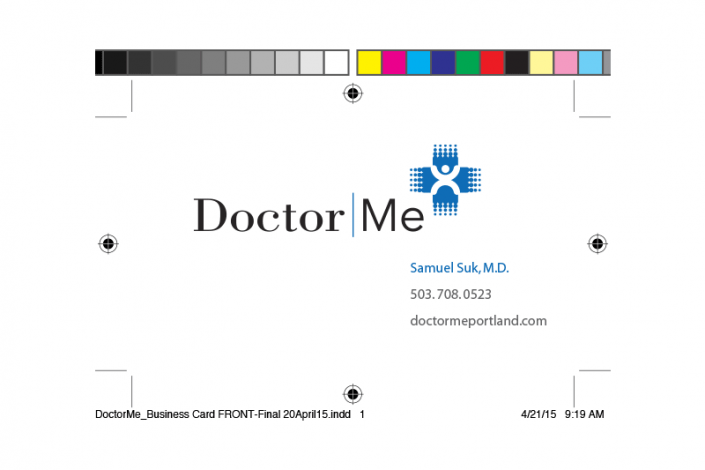 Doctor Me Business Card