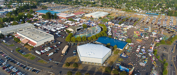 The Oregon State Fair and Exposition Center sees hundreds of thousands of Oregonians each year for fun events like the Fair and crucial public services like vaccination clinics.